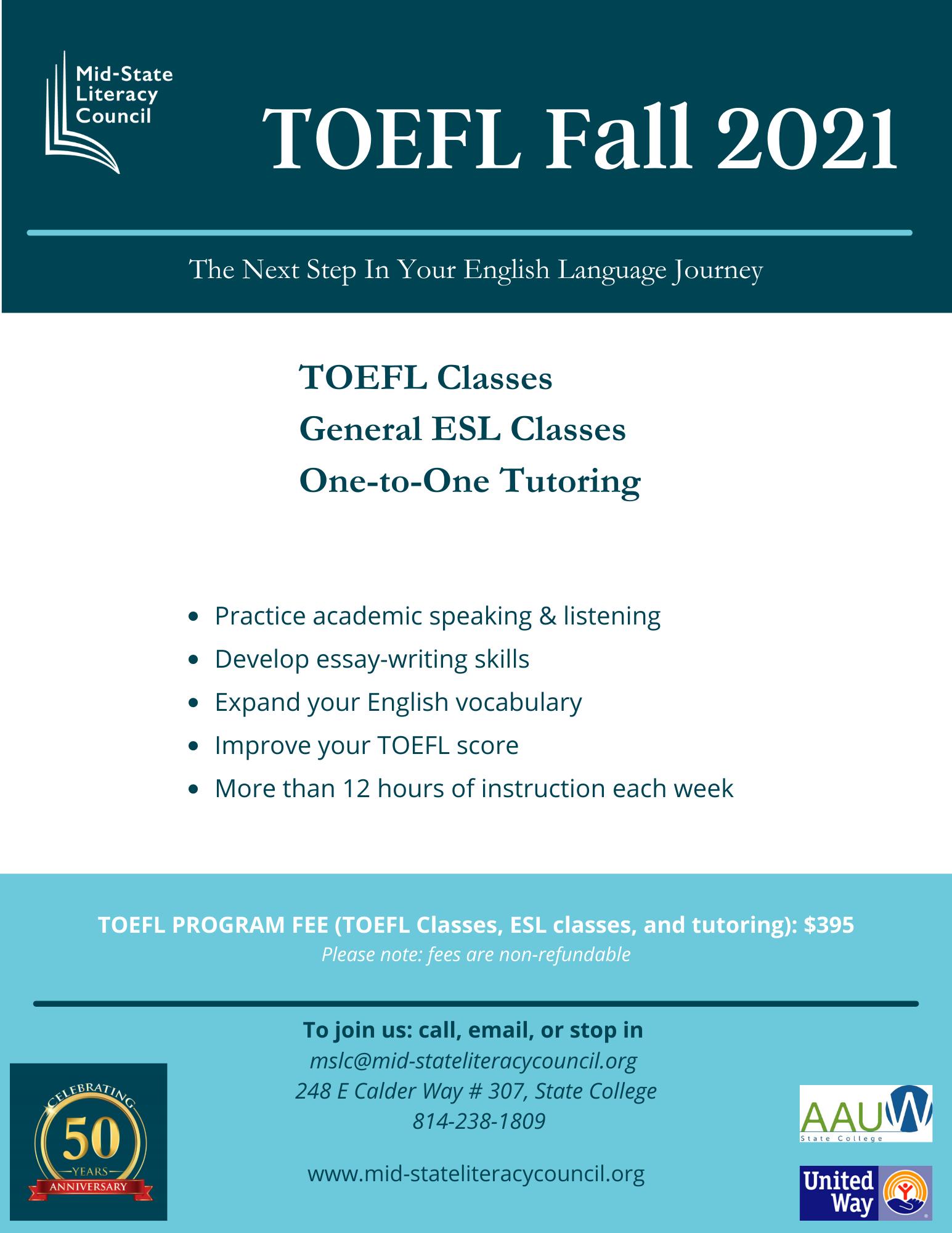 TOEFL Program
